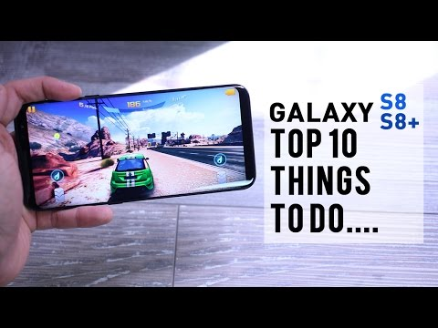 Samsung Galaxy S8/S8 Plus Setup - First 10 things to DO!