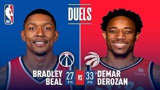 DeMar DeRozan and Bradley Beal Duel in Toronto | November 19, 2017