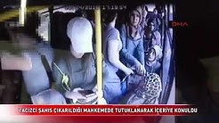 Turkish women fighting sexual harasser on bus