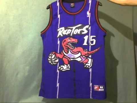 Toronto Raptors Purple Vince Carter Jersey Sz. 48.wmv - YouTube 60ff31180