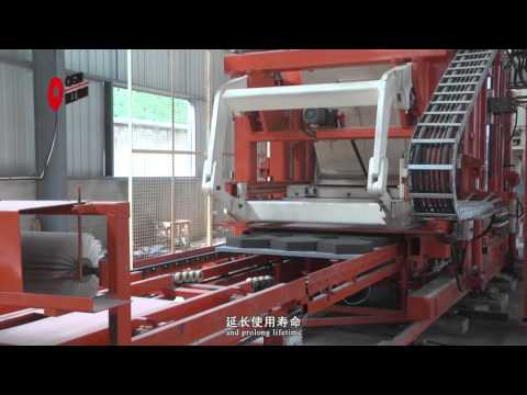 T15 cement block making machine for hollow block, paver and curbstone QGM