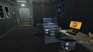 """Scene From """"Starship Troopers"""" PC Game"""