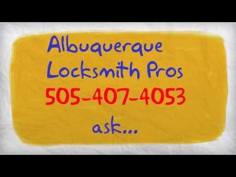 Albuquerque Locksmith 505-407-4053 | The Best Emergency Locksmith In Albuquerque