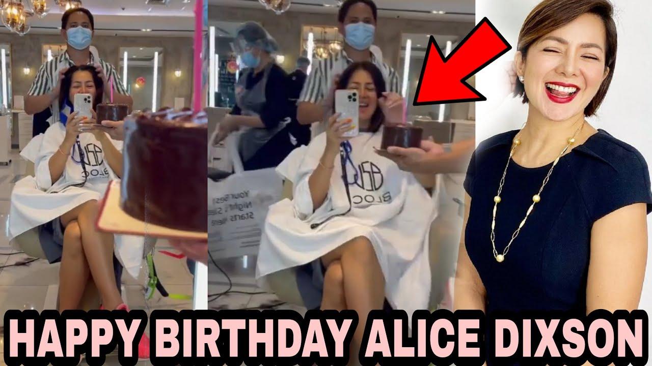 Alice Dixson NASORPRESA sa kanyang ika 52nd BIRTHDAY