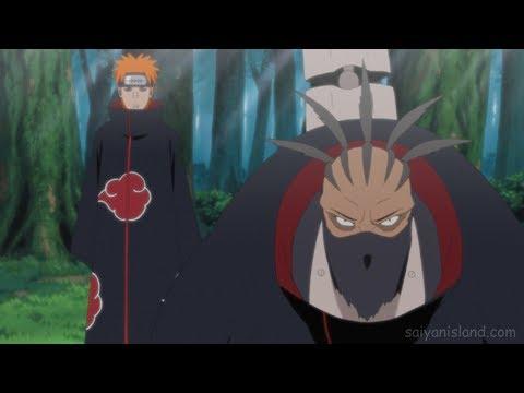 Pain & Sasori vs Orochimaru [VOSTFR]