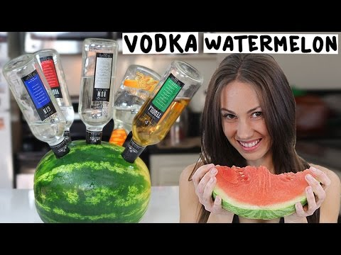 Vodka Watermelon!  -  Tipsy Bartender
