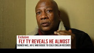 """"""" I almost signed NAS, BIGGIE AND JAY-Z to Cold Chillin records"""" Fly Ty"""