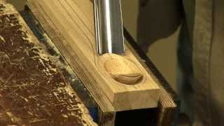 Making a spoon with a gouge and spokeshave - with Paul Sellers