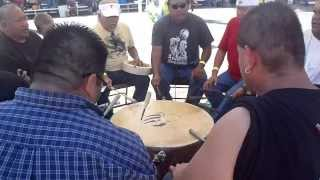Native American Drum Group . Bear Claw Singers oct 2013