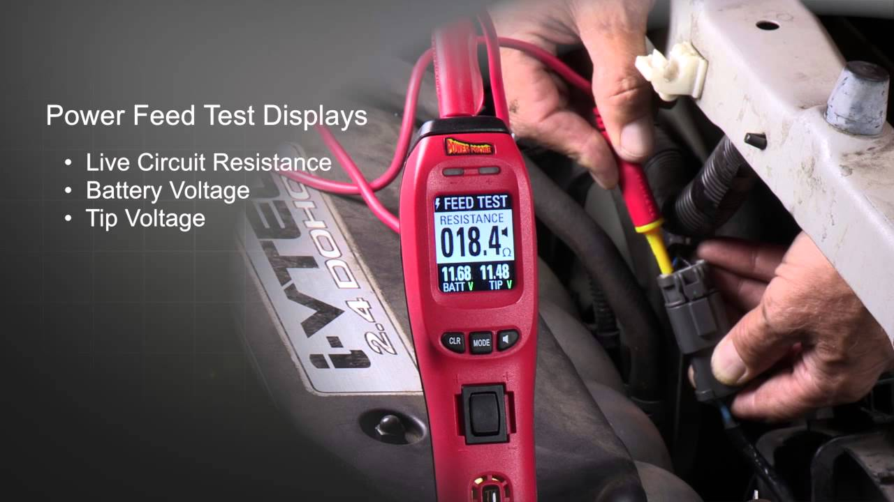 The New Power Probe IV Electrical Diagnostic Tool
