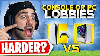 ARE PC LOBBIES HARDER THAN CONSOLE? 🤔 (Modern Warfare Warzone)