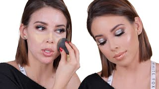 FUEGO NYE  MAKEUP TUTORIAL- NEW YEARS RESOLUTIONS, DIETS, HOUSE UPDATES