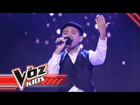 Moisés canta 'Adiós amor'   La Voz Kids Colombia 2021
