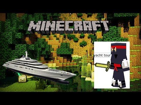 Minecraft: yacht tour