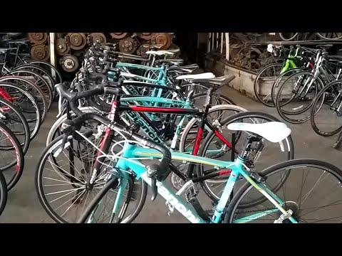 โกดังใหญ่ จักรยานเสือหมอบ มือ2 จากญี่ปุ่น คุณภาพ แบรนด์ดังๆ เย๊อะที่สุด ย่านคลองเตย