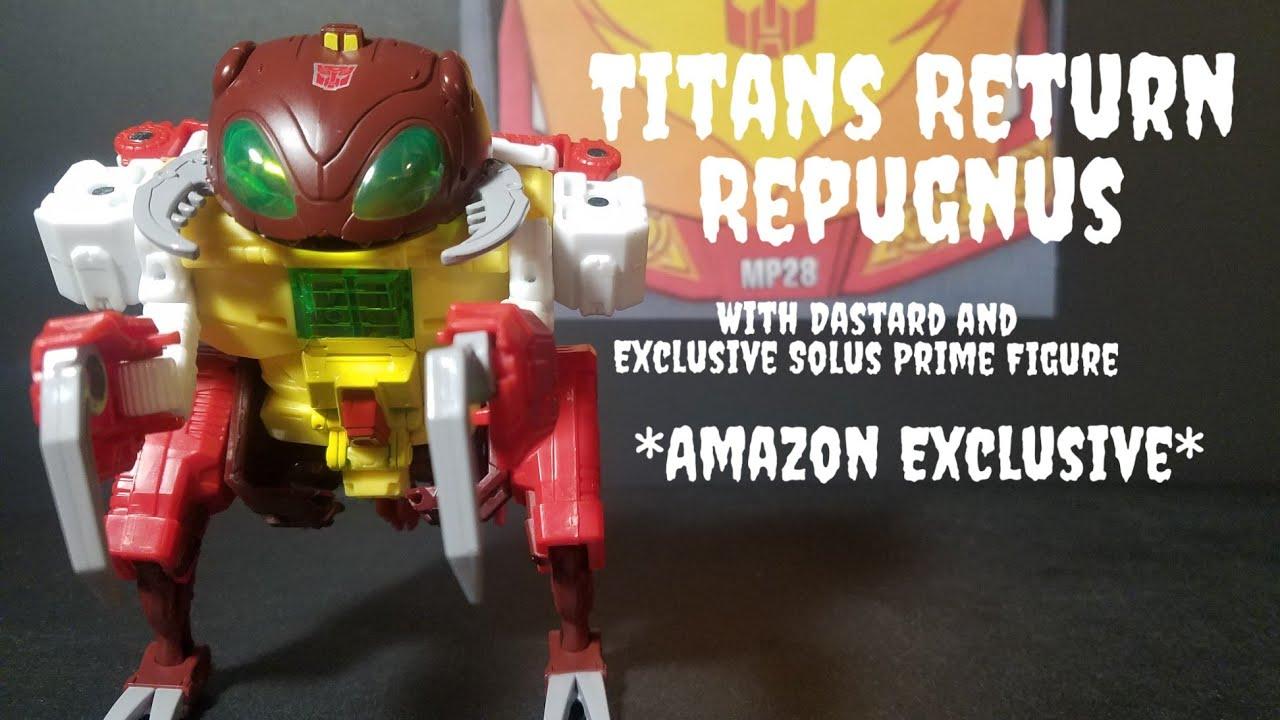 Dastard Transformers Titans Return Repugnus and Solus Prime Master Amazon...