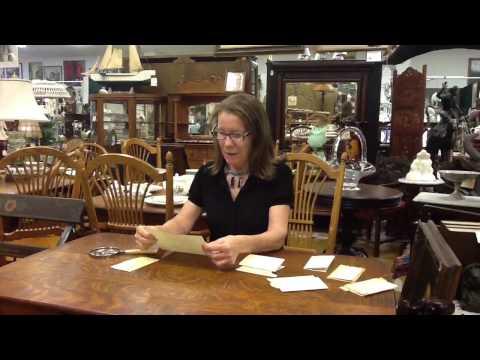 Civil War Antiques, Antique Civil War Letters from our antiques mall at Gannon's Antiques & Art