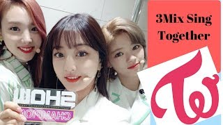 Video TWICE - When 3Mix Sing Together [Part 1] download MP3, 3GP, MP4, WEBM, AVI, FLV November 2018