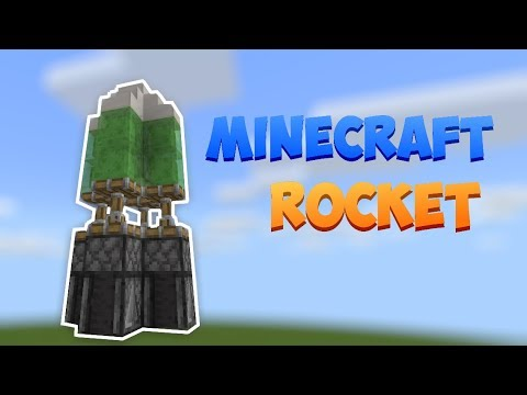 How To Make A Working Rocket In Minecraft
