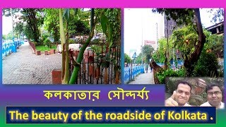 কলকাতার  সৌন্দর্য্য | The beauty of the roadside of Kolkata  | The beauty of Kolkata.