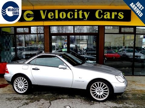 1999 Mercedes-Benz SLK230 Convertible 72K's Supercharged 194hp Leather for  sale in Vancouver