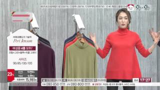 [홈앤쇼핑] [단품]페리젠슨 여성 캐시라이크 터틀넥 1…