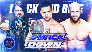 "WWE SmackDown Official Theme Song ""Black and Blue"" 2014-2016 ᴴᴰ (With Lyrics)"