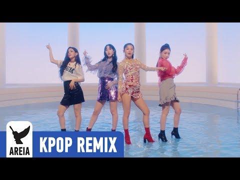 [KPOP REMIX] SEULGI X SinB X Chung Ha X Soyeon - Wow Thing | Areia Kpop Remix #322