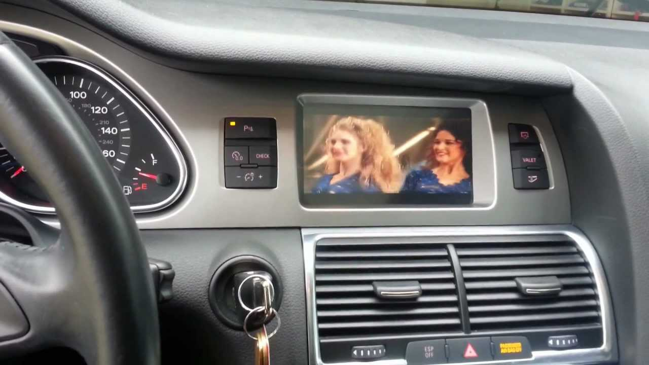 Touch Screen Dvd For Audi A6 Q7 Youtube