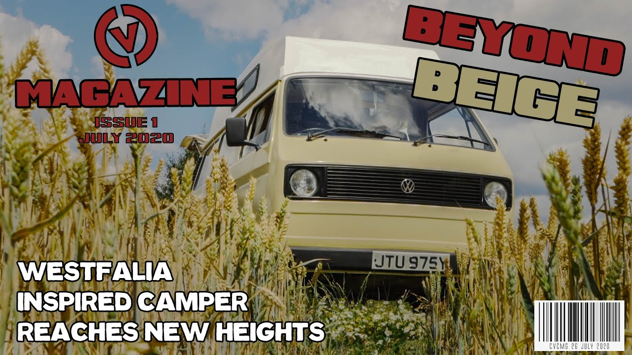 VW T25/T3 CUSTOM CAMPER VAN with new roof and Custom Interior. CVC Magazine Issue 1
