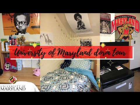 Dorm Tour University of Maryland