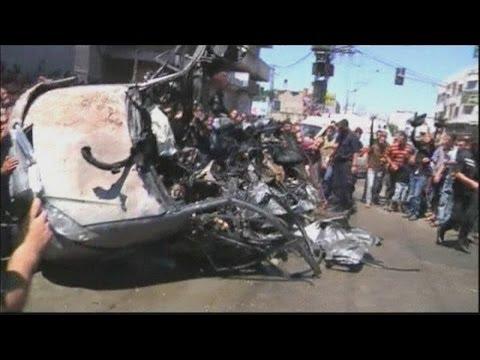 Israeli attack on Gaza strip kills five
