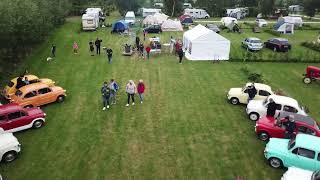 Fiat 600 Club Nederland kampeerweekend bij Camping de Boerenzwaluw in Zijdewind, Noord-Holland