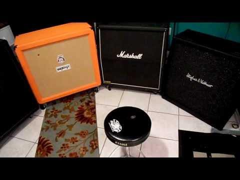 Guitar 4x12 Cab SHOOTOUT Mesa Marshall Orange H k Crunch Distortion Part 2