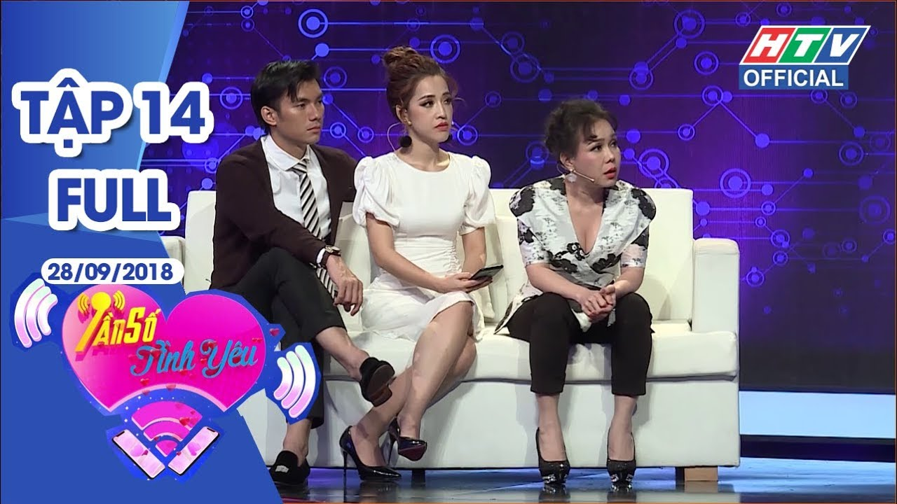 image TẦN SỐ TÌNH YÊU | Nam thần Nhan Phúc Vinh và diễn viên Kim Tuyến | #HTV #TSTY 14 FULL | 28/9/2018