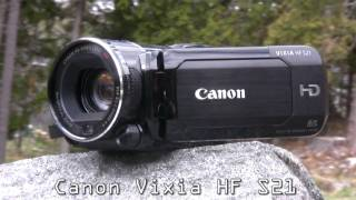 Canon Vixia HF S21 Review