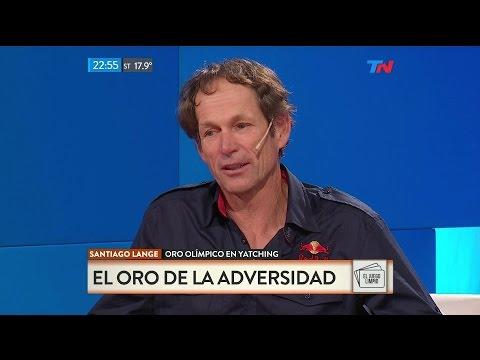"""Santiago Lange (medalla de oro en yachting), en """"El juego limpio"""" de Nelson Castro - 25/08/16"""
