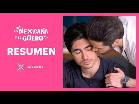 RESUMEN SEMANAL: Sebastián le da un tierno beso a Diego 🌈 | La Mexicana y el Güero | Las Estrellas