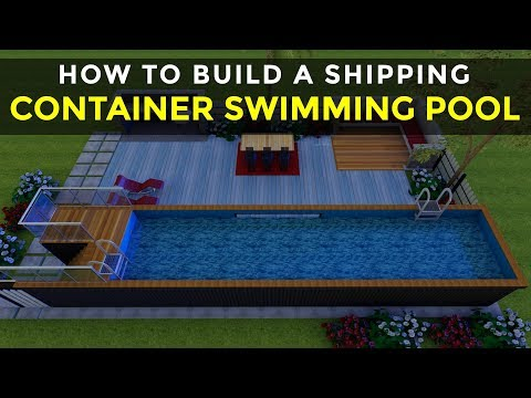 how to build a shipping container swimming pool in 7 simple steps poolbox 320 by sheltermode