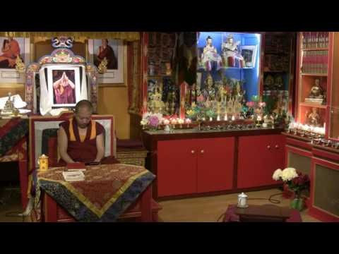 Awarenesses and Knowers with Geshe Ngawang Tenley - 2016-06-