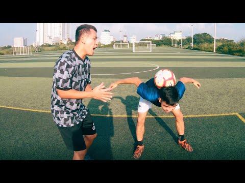 PHD | Thử Thách Vui Với Bóng | Freestyle Football