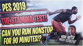 [TTB] PES 2019 - 3 Game Stamina Test! - Can You Get Injured Running Nonstop?!