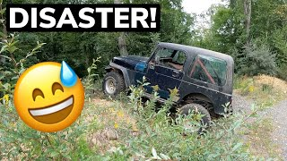 homepage tile video photo for COURTNEY HATES HER JEEP AND SPECIAL GUEST!!
