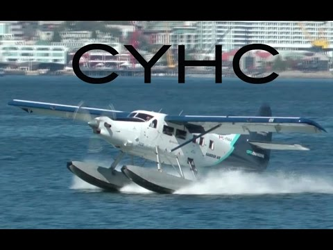 Seaplane Rush Hour at the Vancouver Harbour Water Airport CYHC