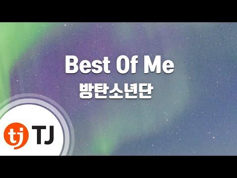[TJ노래방] Best Of Me - 방탄소년단(BTS) / TJ Karaoke