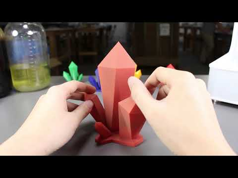 Smoothing 3D Printed PLA Prints With A Sandblaster