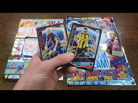 2 LIMITED EDITIONS! MOTD Euro Special & Issue #439 - Match Attax Champions League 2016/17