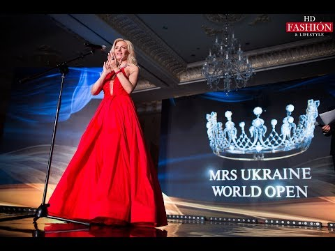 Mrs. Ukraine World Open 2018 | FASHION EVENT