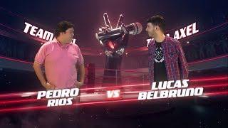 ¡Axel y Carlos Vives coachean a Lucas Belbruno y Pedro Rios...