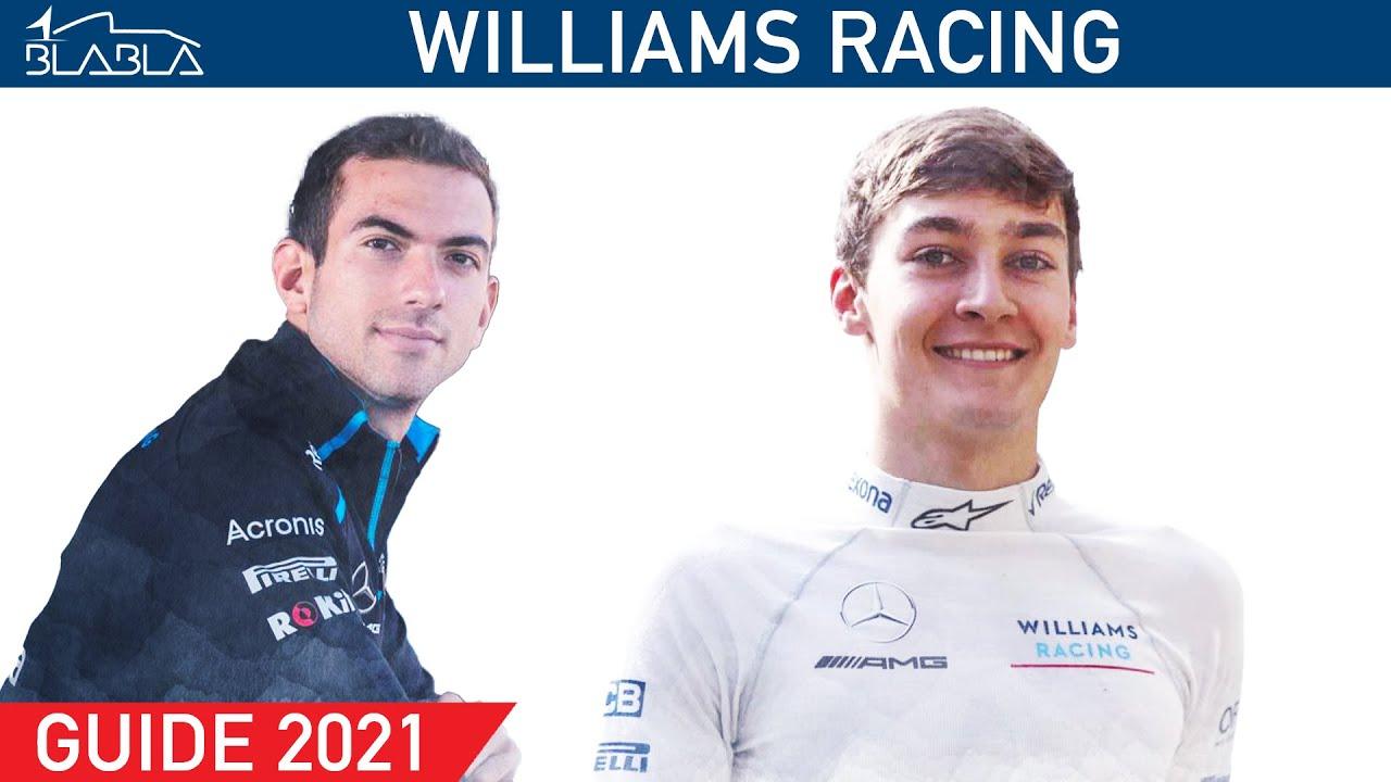 GUIDE 2021 : Williams Racing |George Russell |Nicholas Latifi